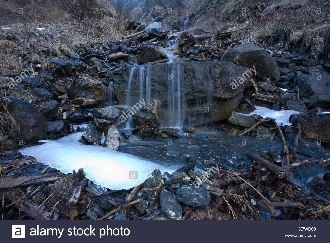 Waterfall Into River Stockfotos & Waterfall Into River Bilder ...