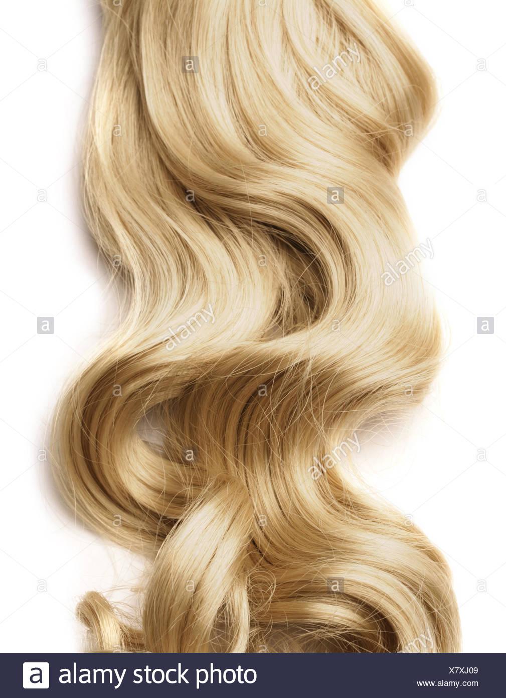 Blonde Haare Haare Locken Stockfoto Bild 280253353 Alamy
