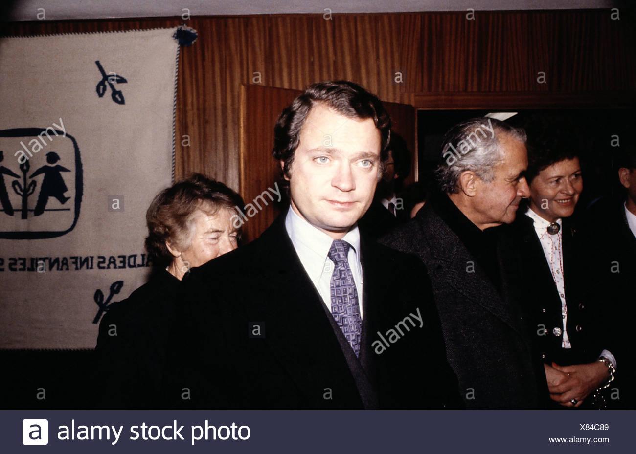 König Carl Gustaf Xvi Von Schweden Stockfotos König Carl Gustaf