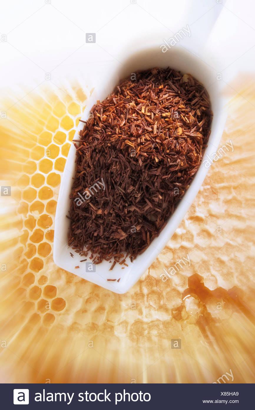 Rooibos Tee Sudafrikanische Roter Tee Gewurzt Mit Honig Pollen