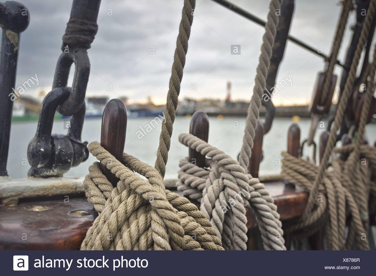 Maritime Nostalgie Stockbild