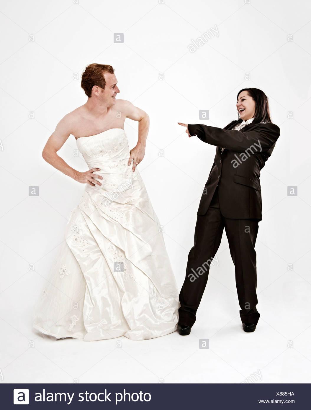 Schön Indian Braut Bräutigam Hochzeitskleid Zeitgenössisch ...