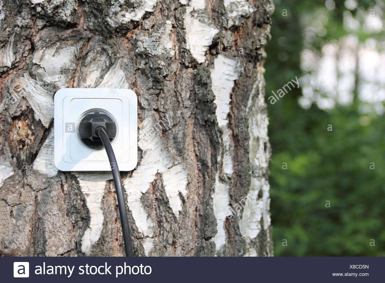 Öko-Energie-Konzept Stockbild
