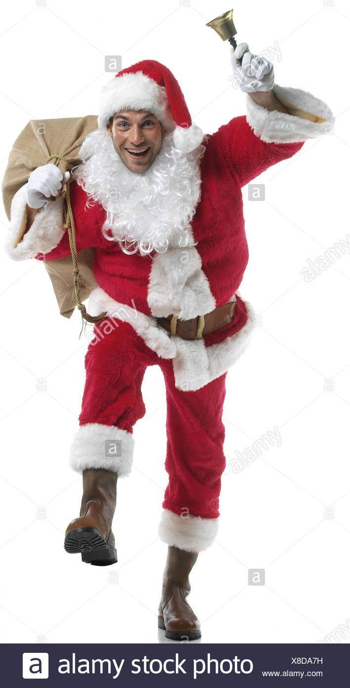Santa, Beutel, Glocke Weihnachten, Yule Flut, Weihnachten, x-mas ...