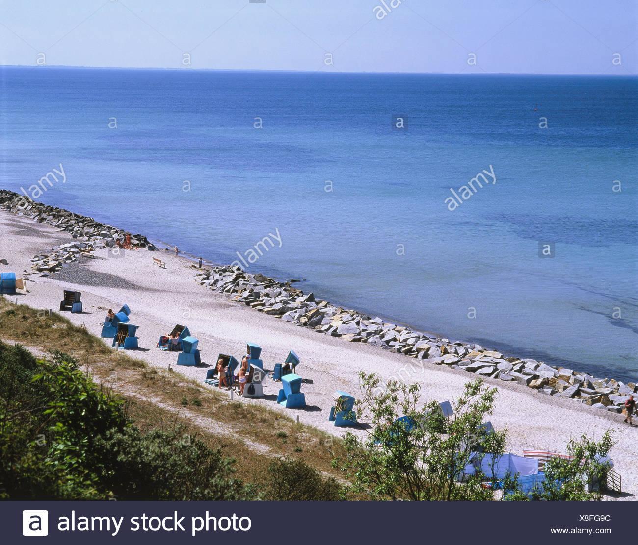 Deutschland Mecklenburg Vorpommern Hiddensee Tietenufer Strand