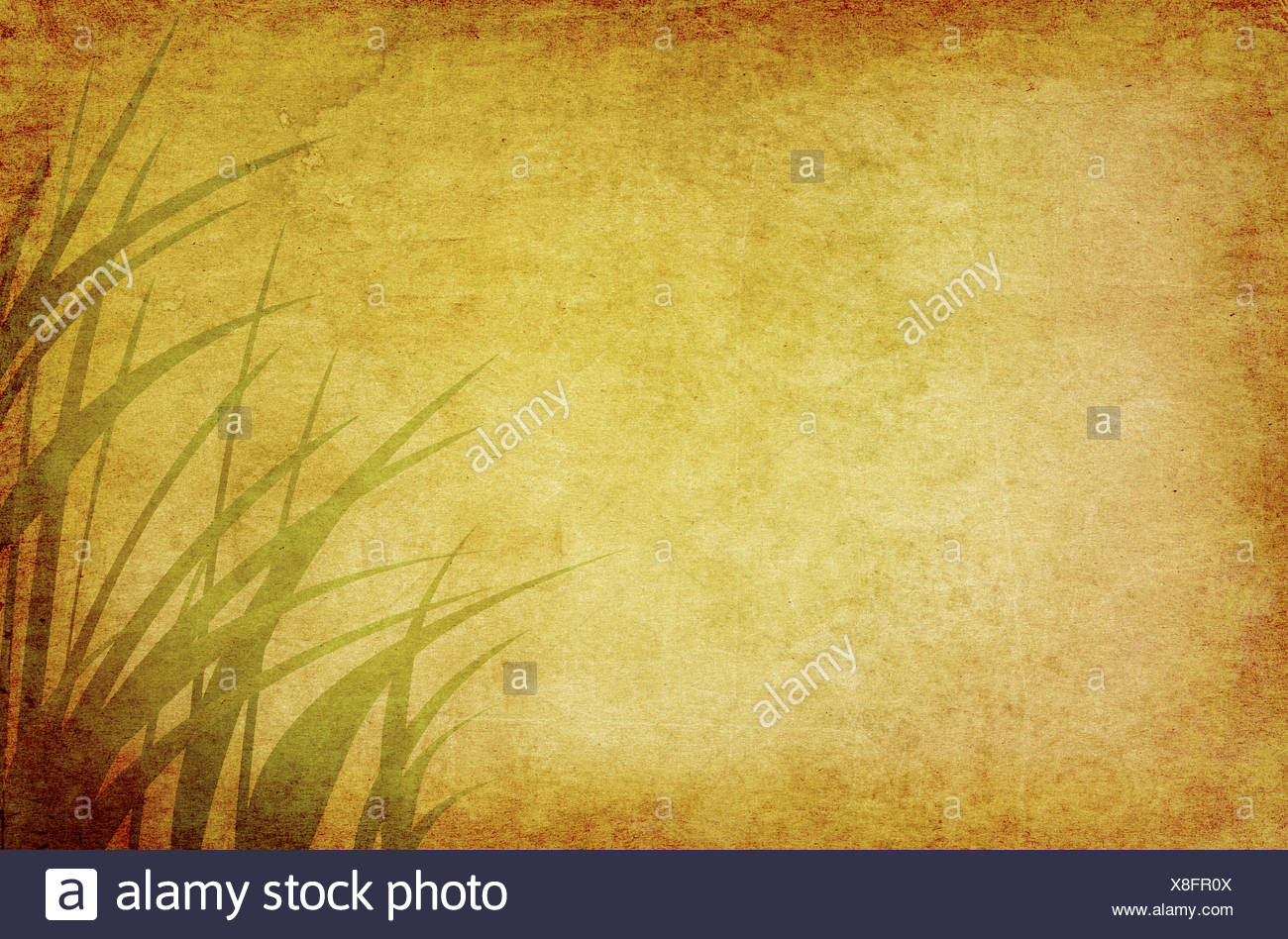 Ambient Rasen Grafiken Stockbild