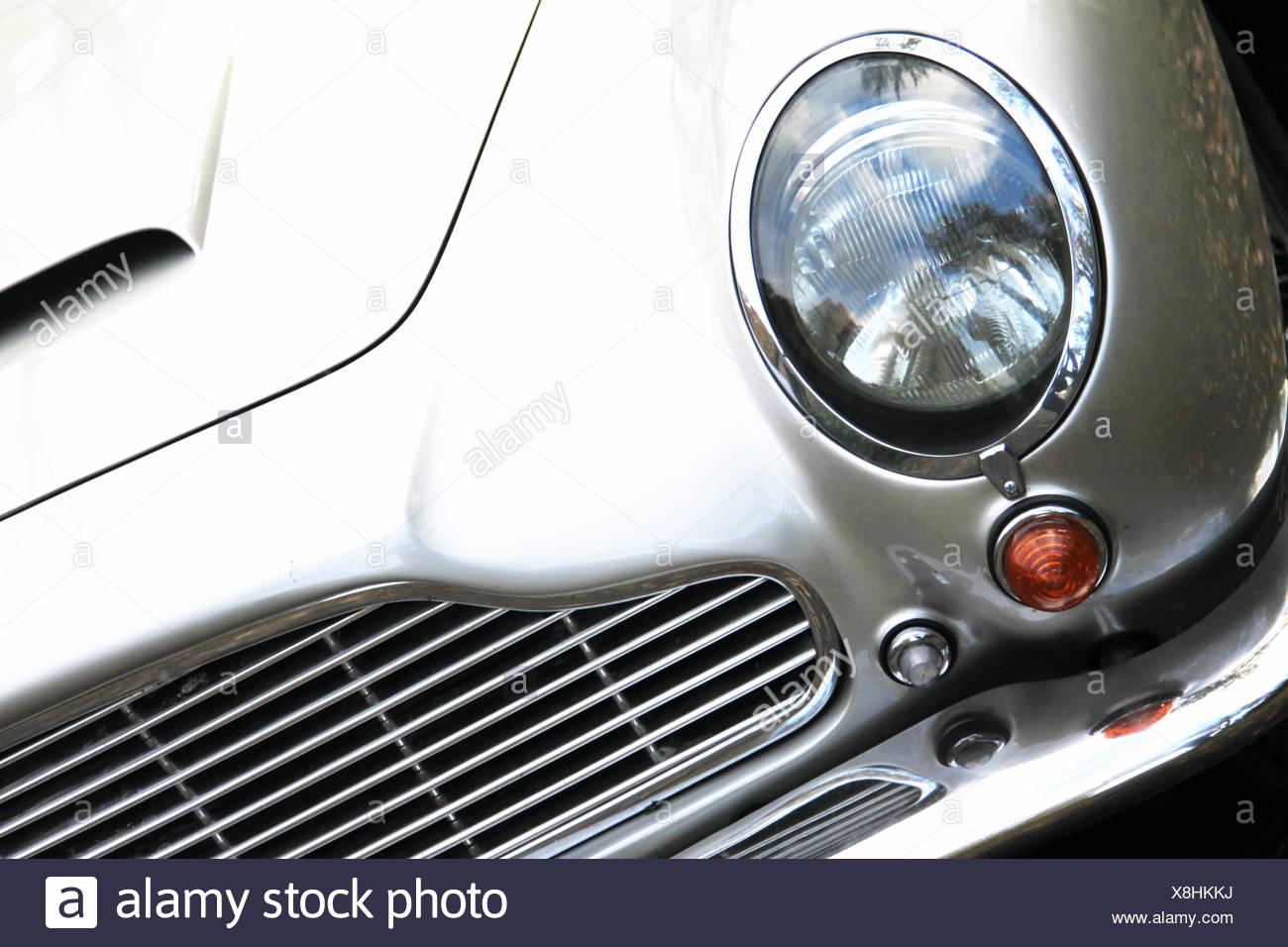 Oldtimer Sportwagen Stockbild