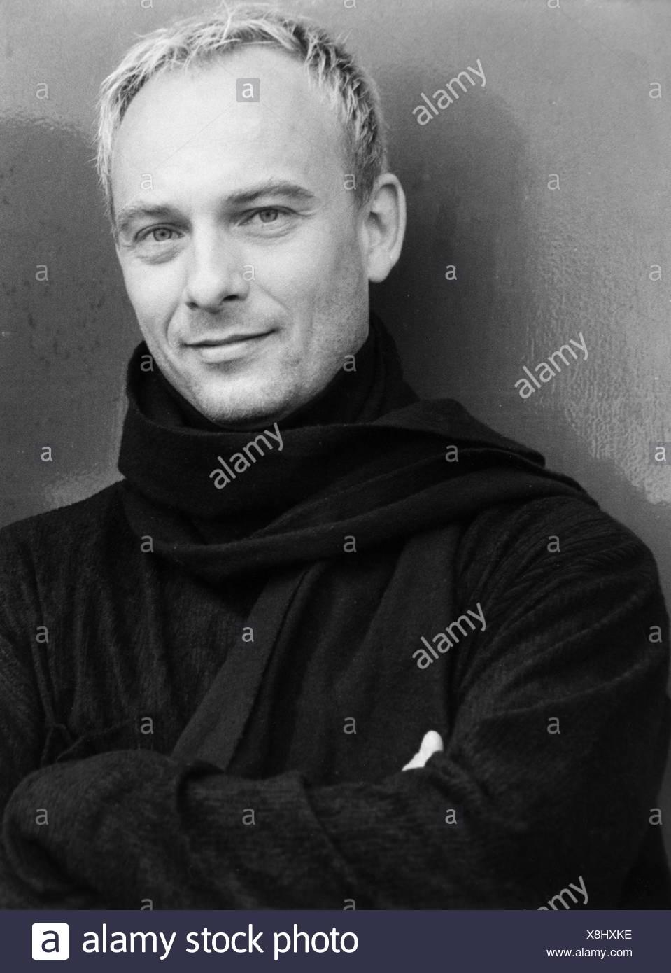 Fessler, Peter, deutscher Musiker (Sänger), Portrait, Foto, Stuttgart, 1998, Additional-Rights-Spiel-NA Stockbild