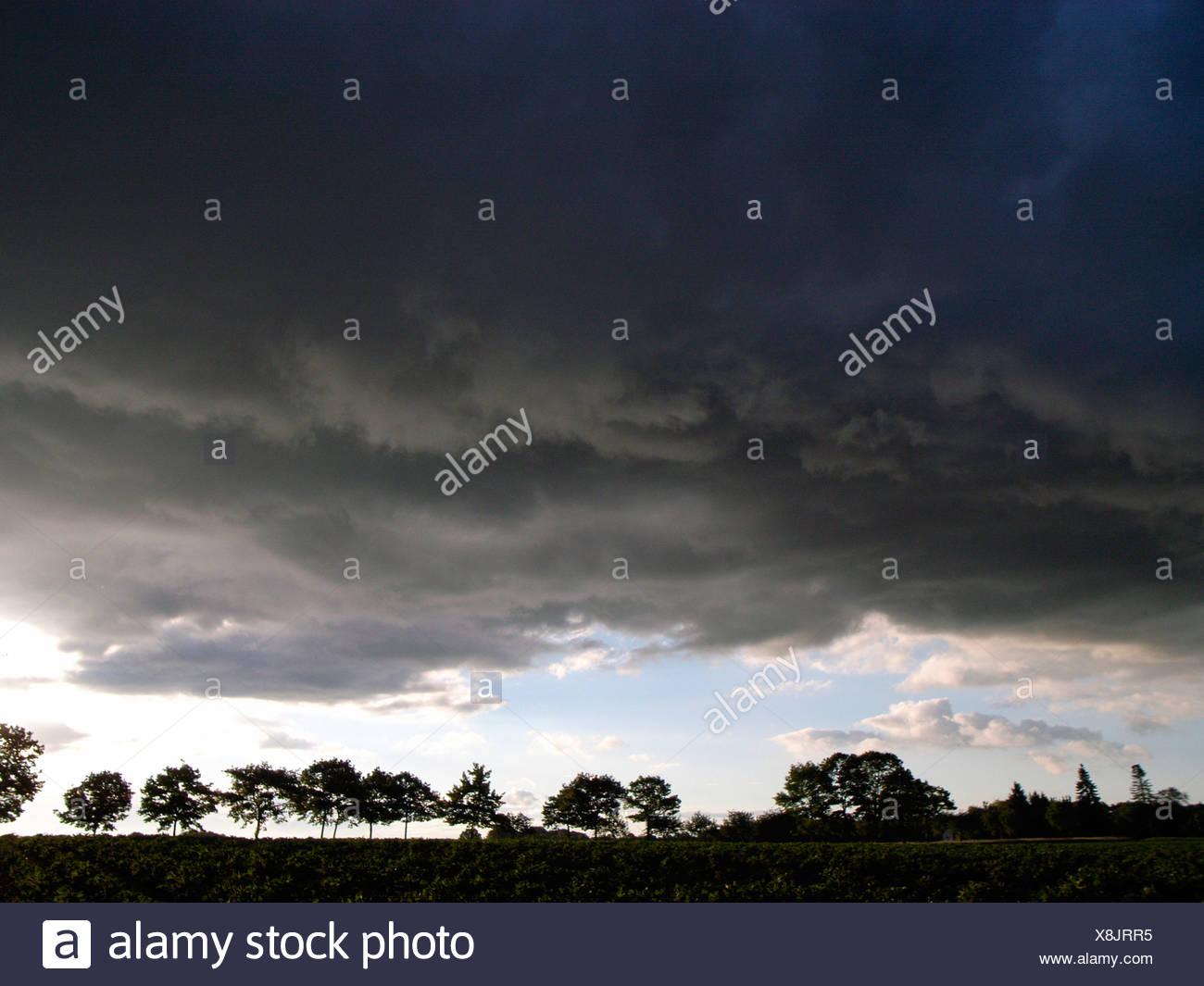 Regenwetter Stockbild
