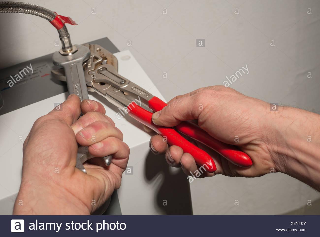 Handwerker Berlin berlin deutschland ein handwerker auf die lieferung eines