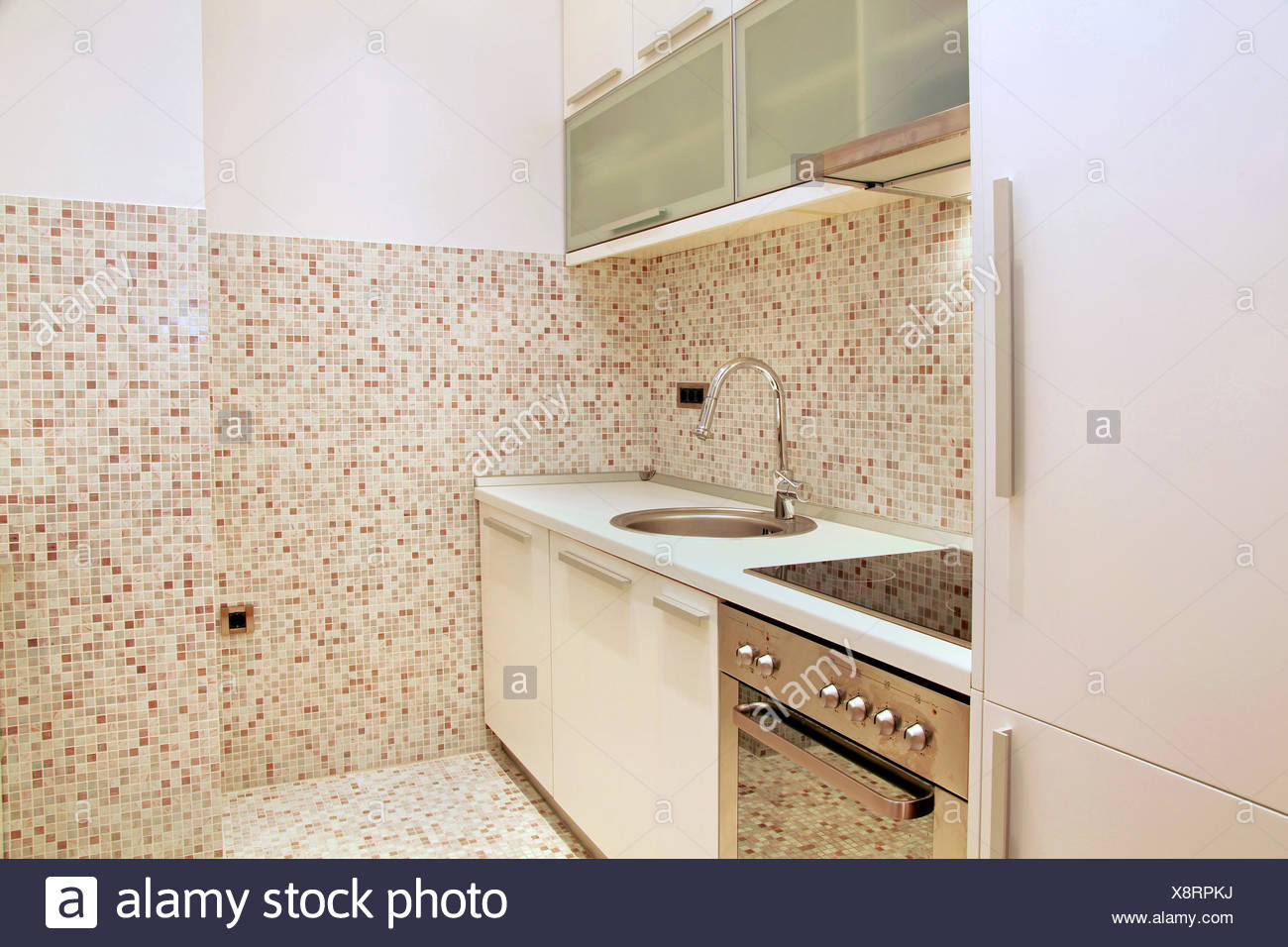Mosaik Fliesen Küche Stockfoto, Bild: 280805830 - Alamy