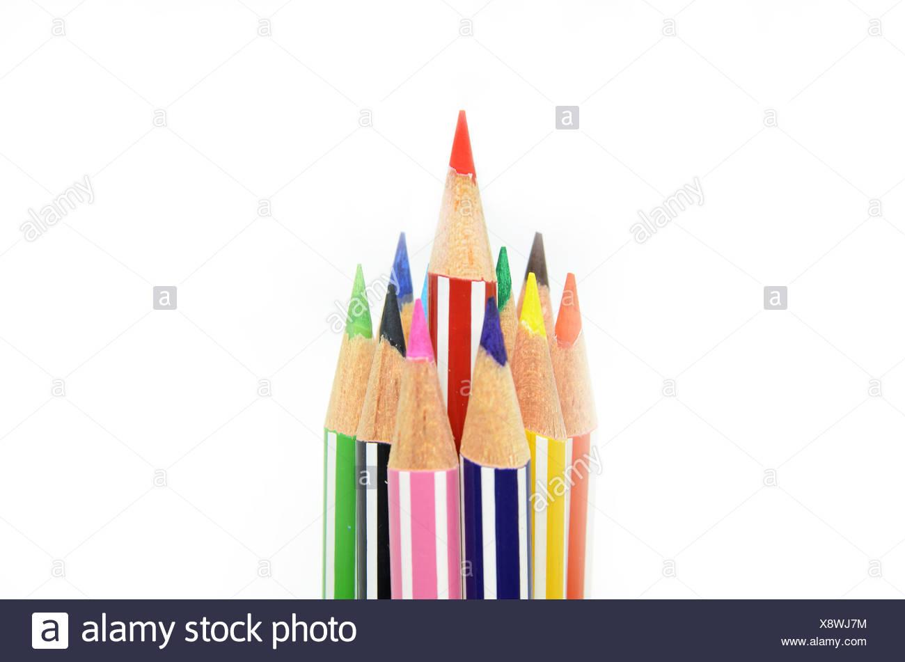5ccfa1fdbe30 Rote Farbe Bleistift heraus Ständigen Stockfoto, Bild: 280846264 - Alamy