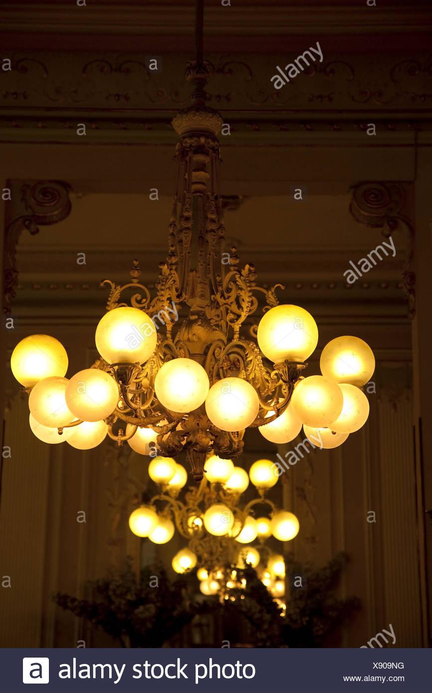 Osterreich Wien Demel Kronleuchter Hangen Lampe Nostalgisch