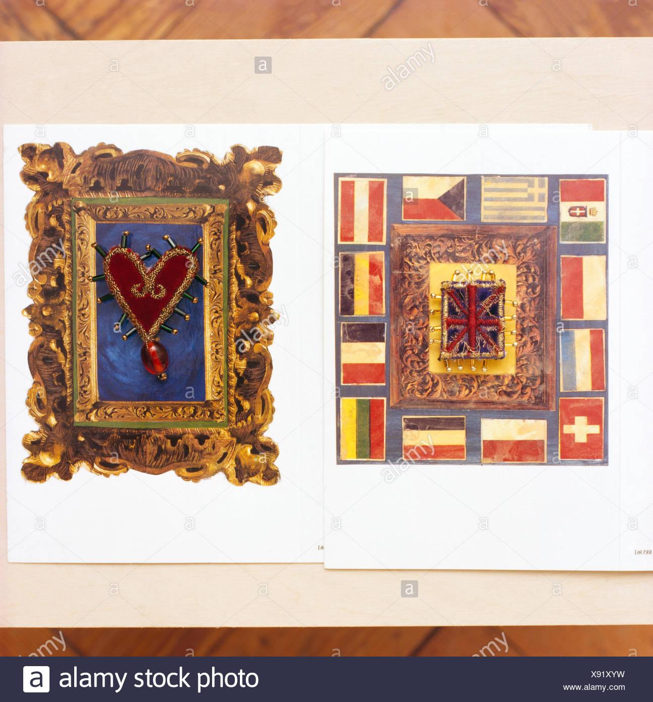 Ornate Frames Stockfotos & Ornate Frames Bilder - Alamy