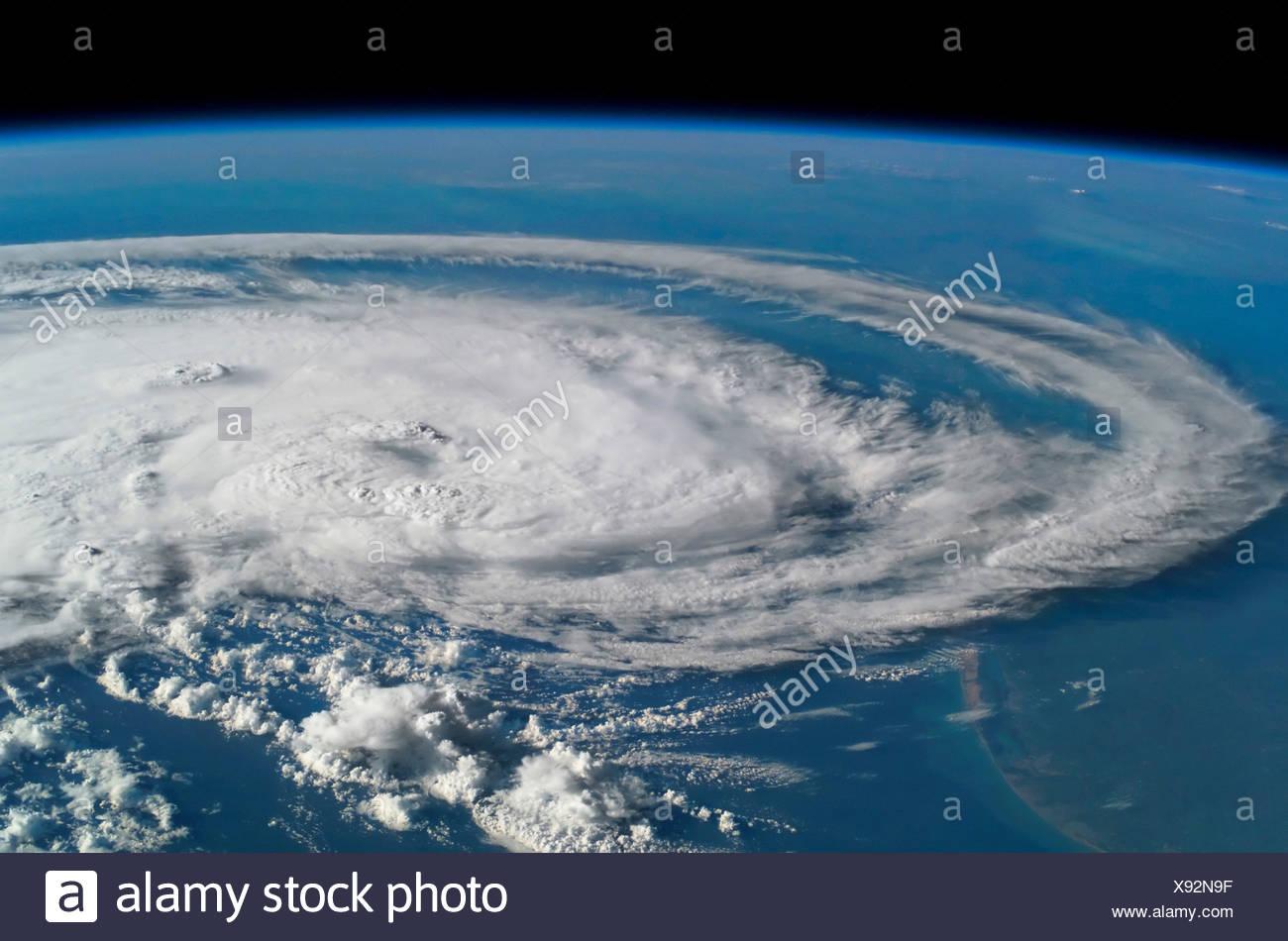 Hurrikan Claudette Stockbild