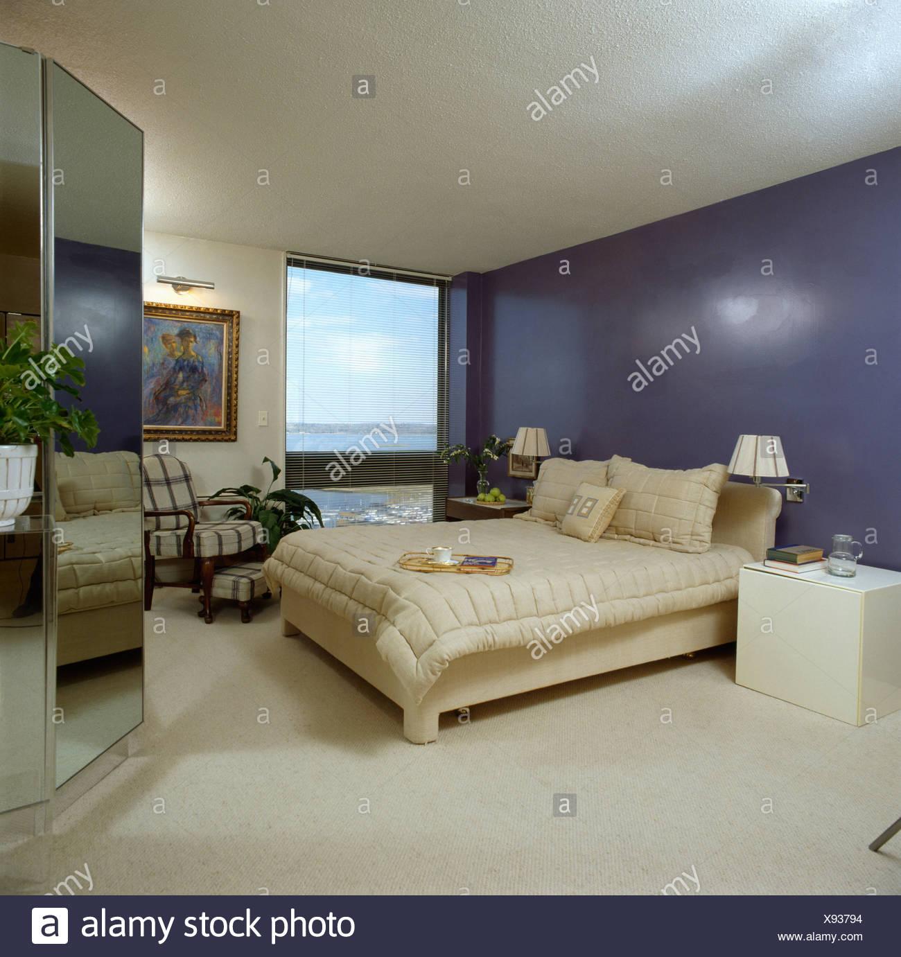 Schlafzimmer Beige Blau