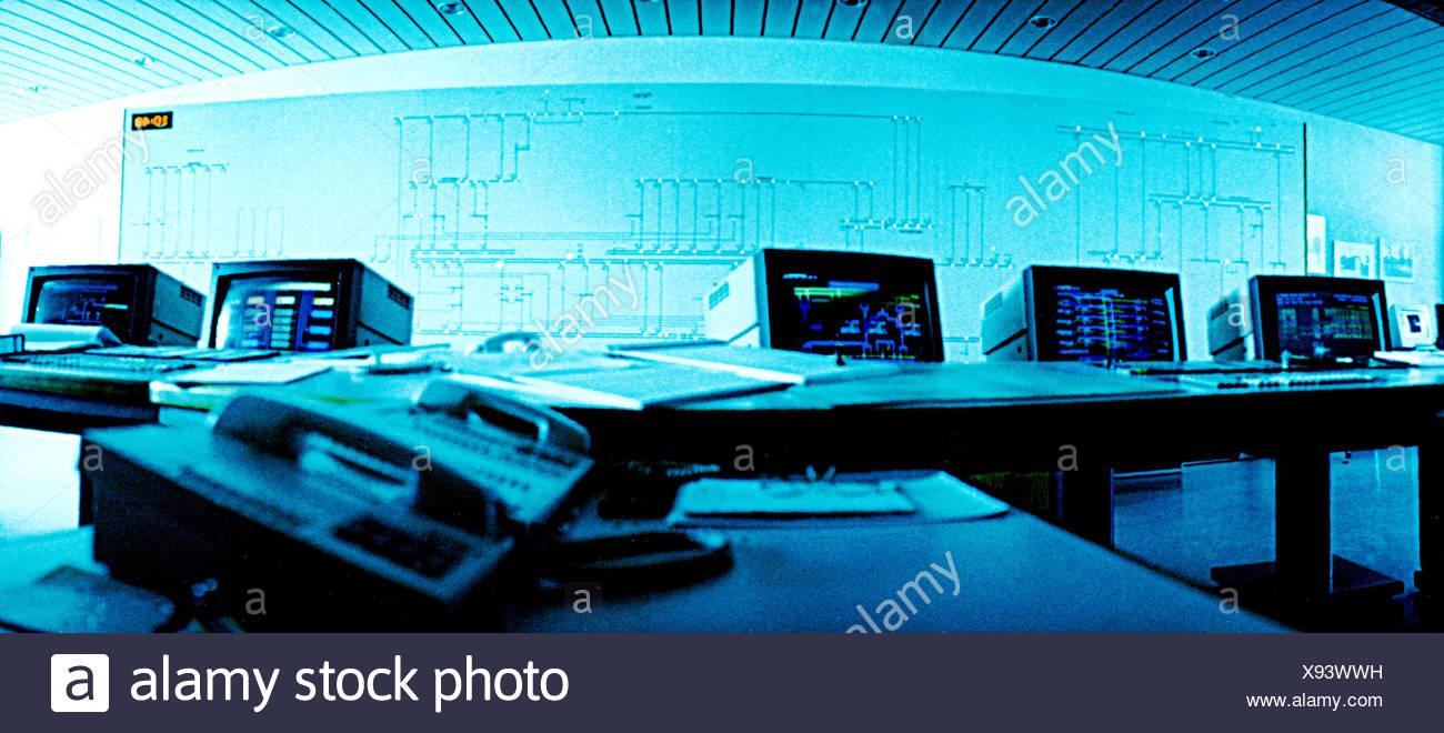 Central Control Room Stockfotos & Central Control Room Bilder - Alamy