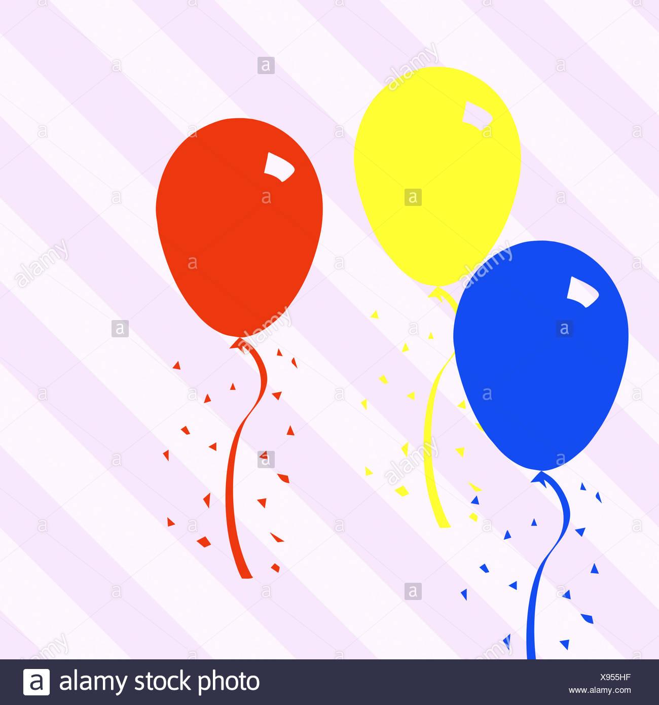 Fantastisch Geburtstag Ballon Malvorlagen Zeitgenössisch ...