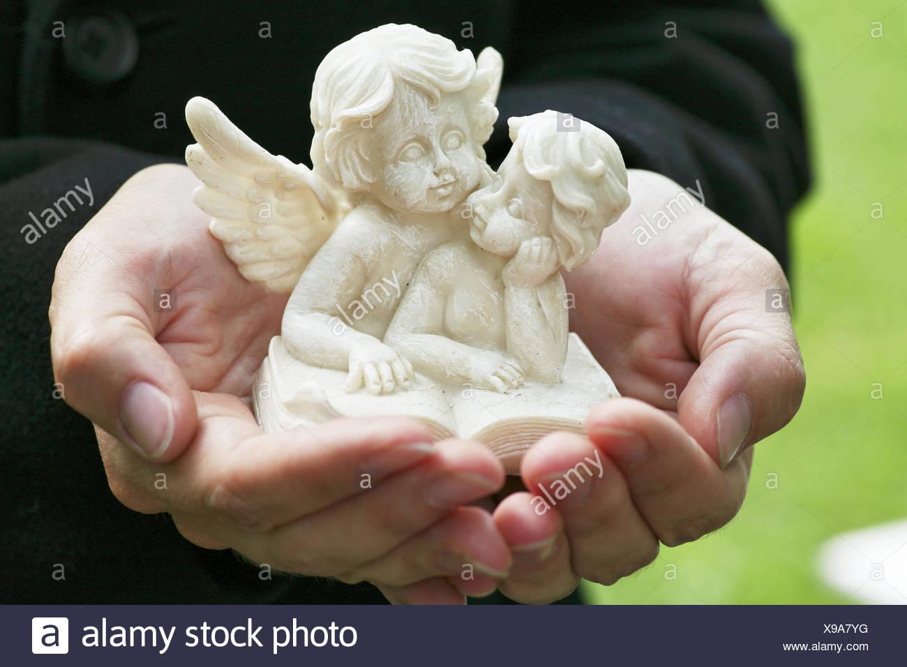 Engels Figur Hände Punkt Allerheiligen Engel Figur