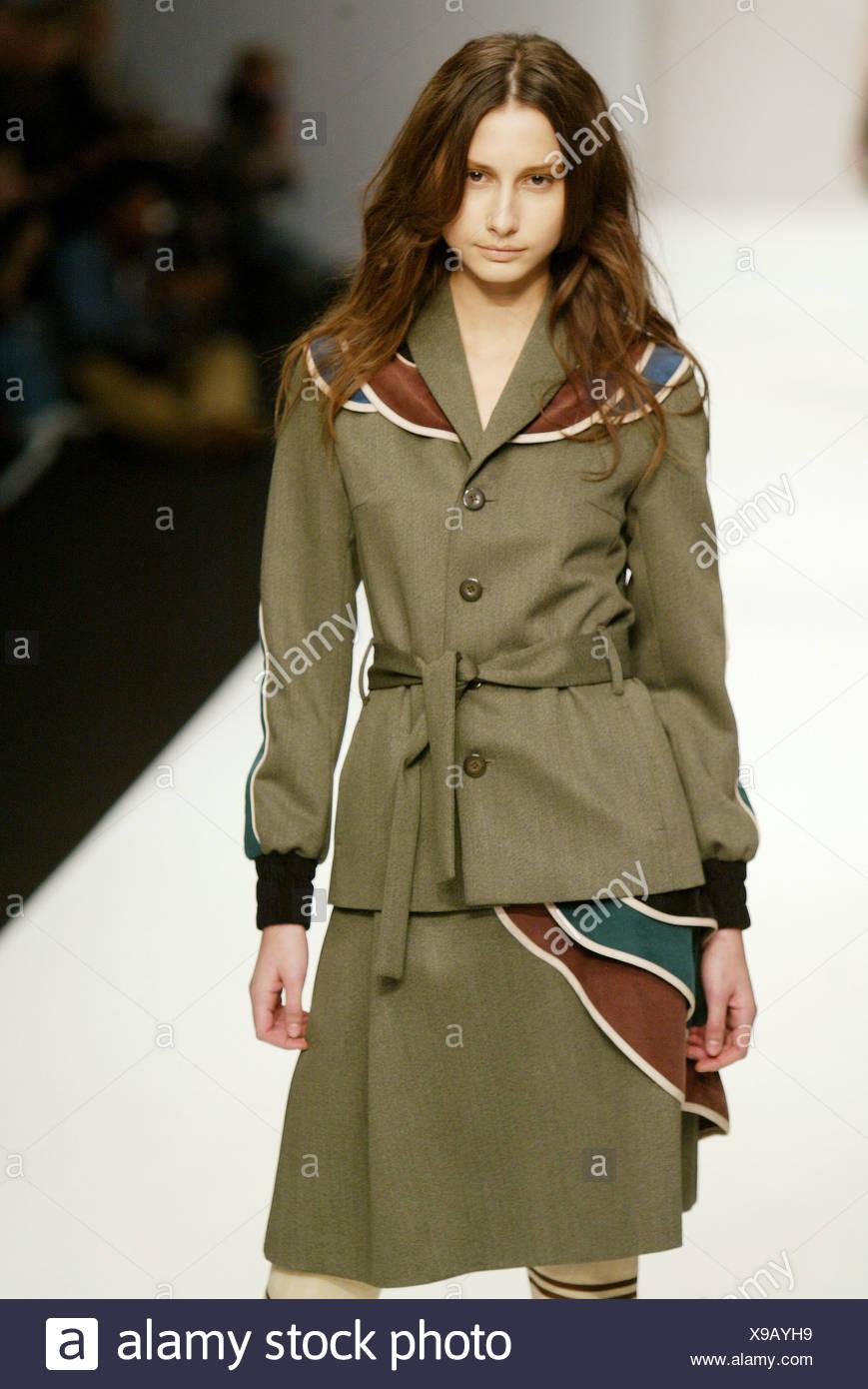 Eley Kishimoto London Bereit Zu Tragen Herbst Winter Olive Kostum