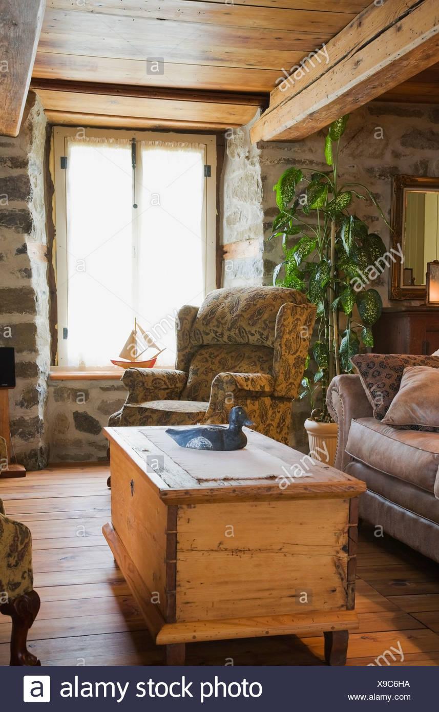 Antike Lagerung Truhe Couchtisch Sofas Stuhle Und Mobel Im