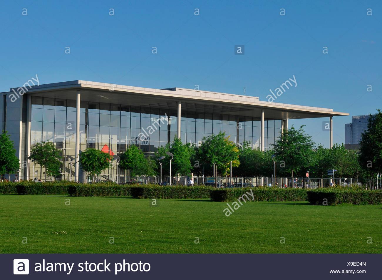 Paul-Loebe-Haus, Platz der Republik, Tiergarten, Mitte, Berlin, Deutschland Stockbild