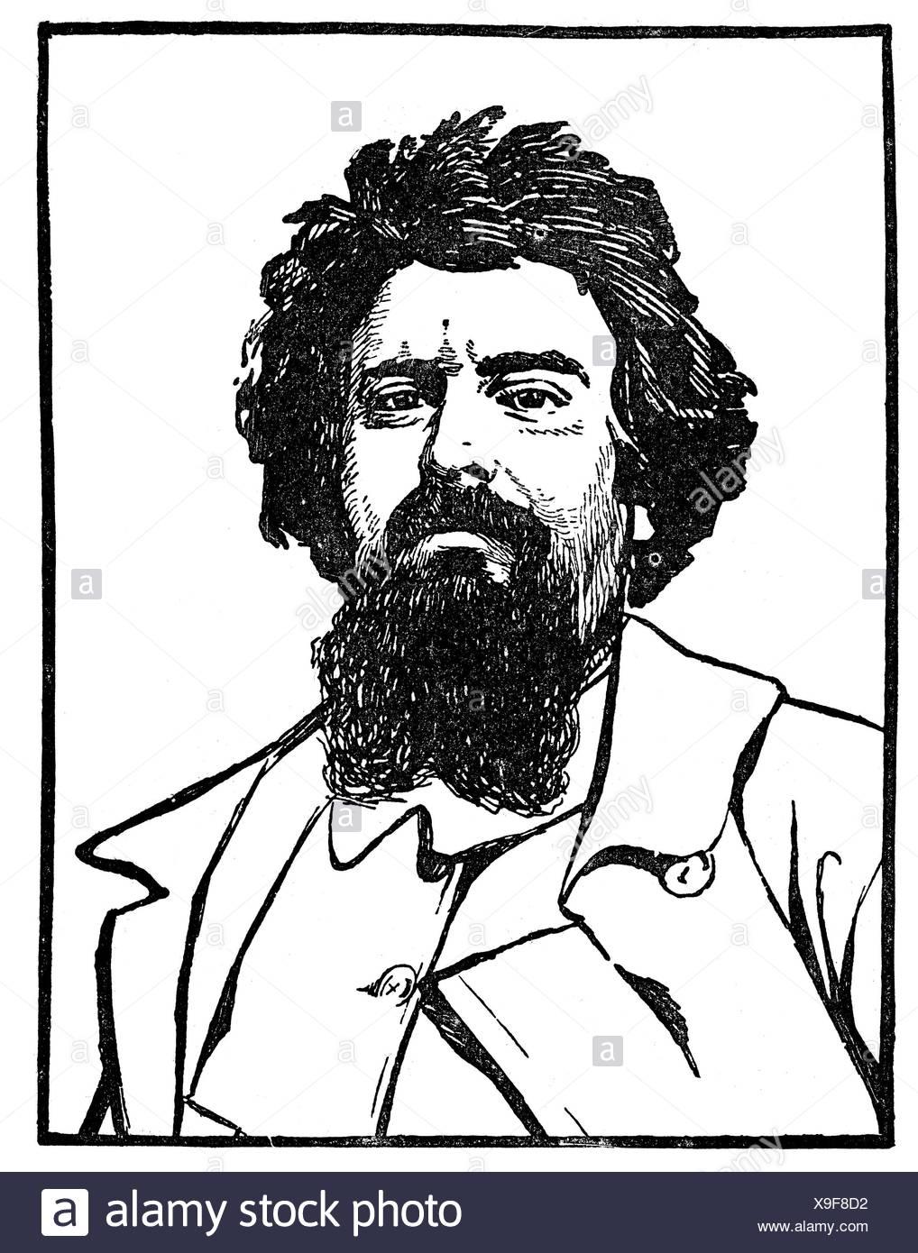 Künstler Maler Berlin segantini 15 1 1858 28 9 1899 schweizer künstler