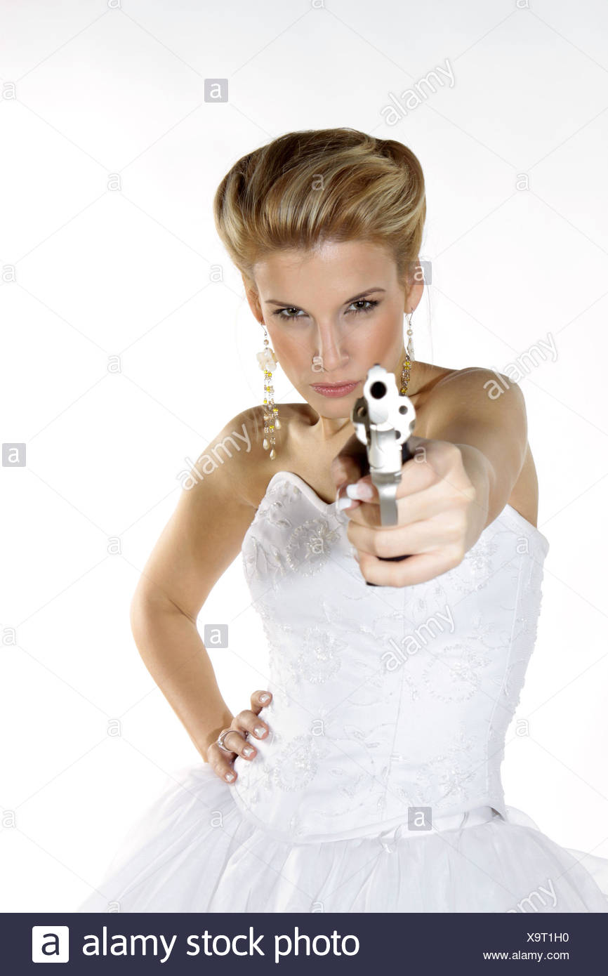 Young Woman Revolver Stockfotos & Young Woman Revolver Bilder - Alamy