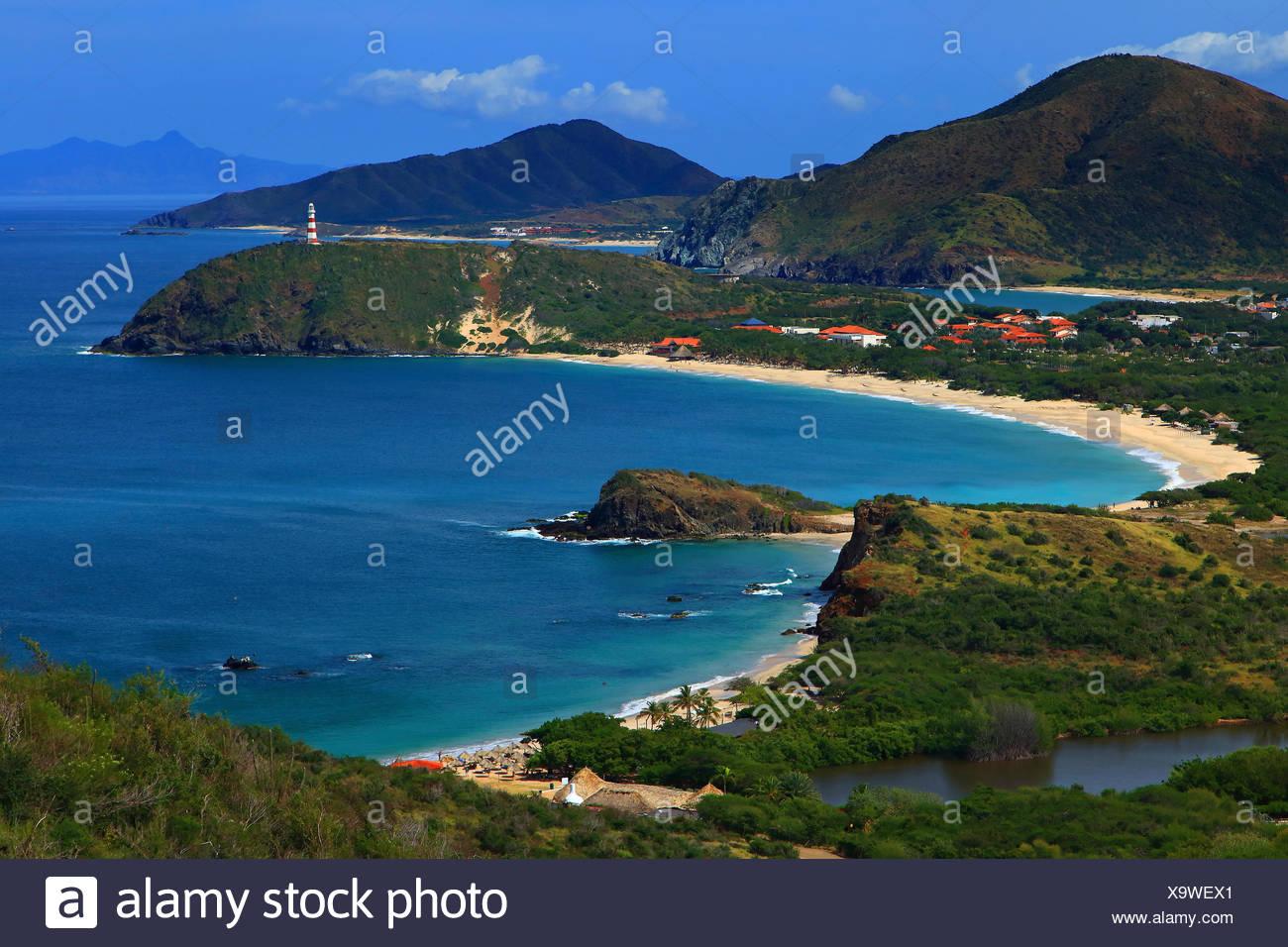 Venezuela Insel Margarita Punta Von Zaragoza Leuchtturm Playa