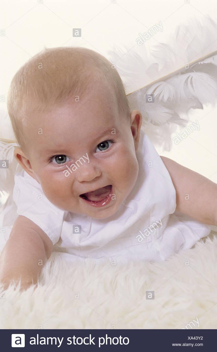 Baby Engels Flügel Lachen Kind Kind Mädchen Flügel