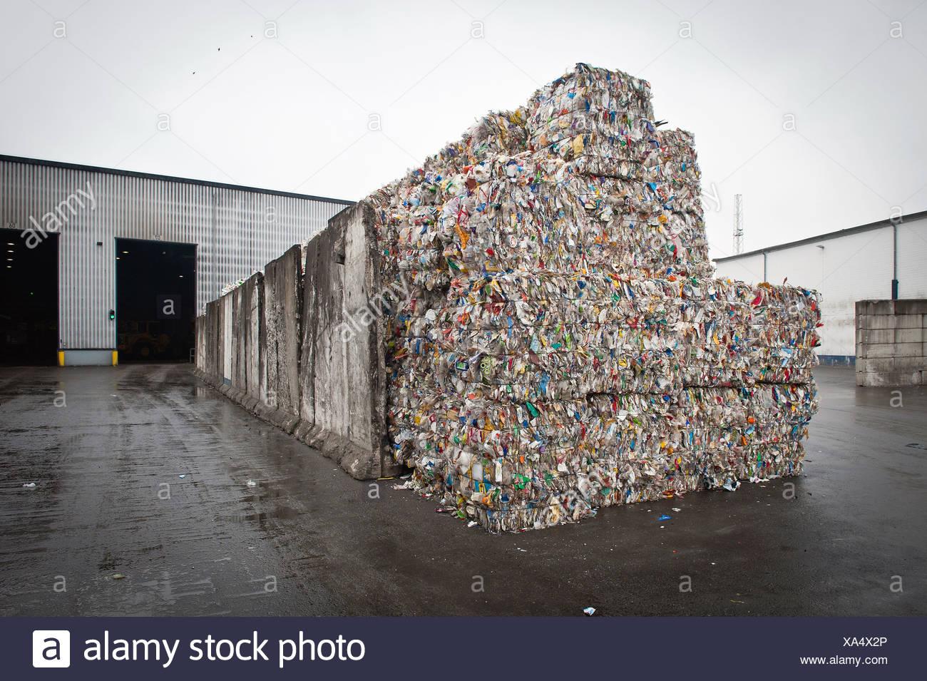 Berlin, Deutschland, GmbH über das recycling von Alba recycling Stockbild