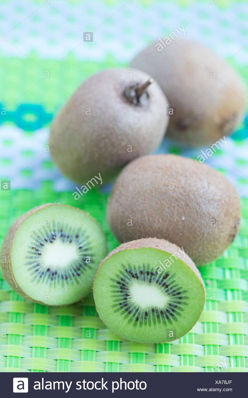 Kiwifrucht. Stockbild