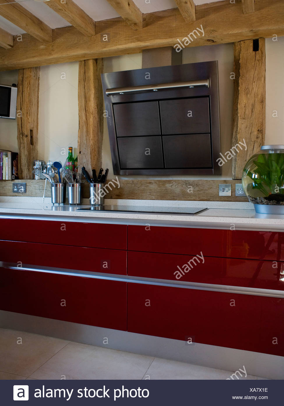 Großartig Küchenschränke Schwarz Bilder Gemalt Zeitgenössisch ...