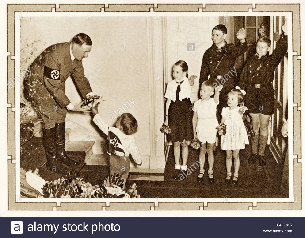 Hitler Geburtstag Kinder Adolf Hitler Gratulieren 50 Jungen