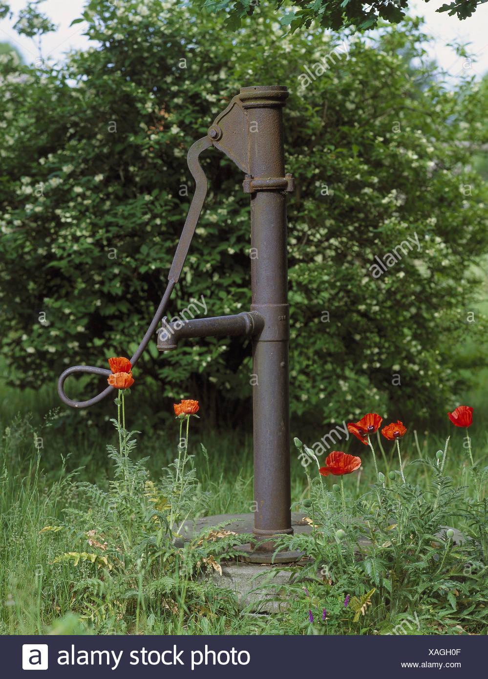 alte garten brunnen garten kredit-brunnen wasser pumpe brunnen-welle