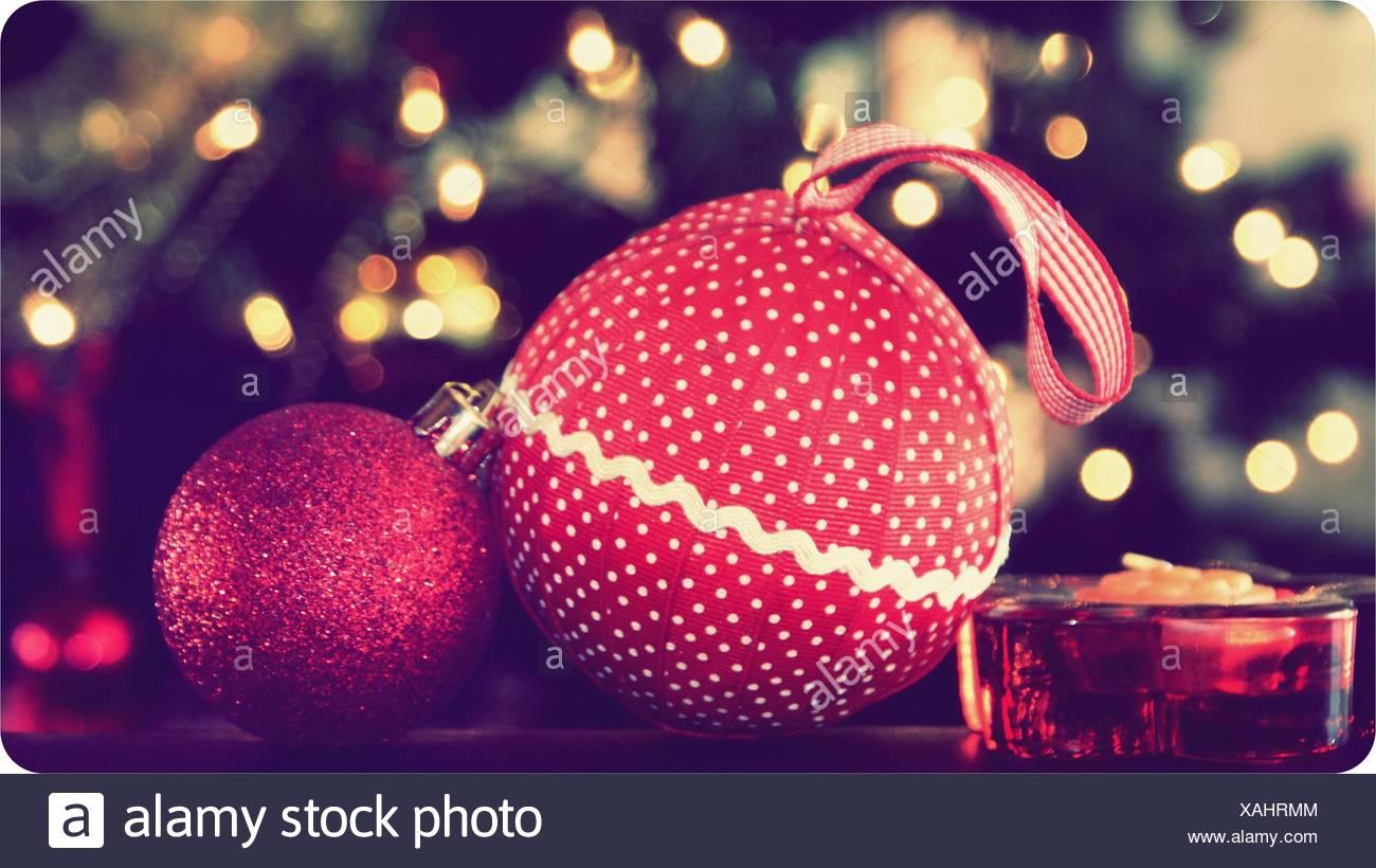Argentinien, Buenos Aires, General San Marta, Partido de General San Marta n, feiern Weihnachten in rot Stockbild