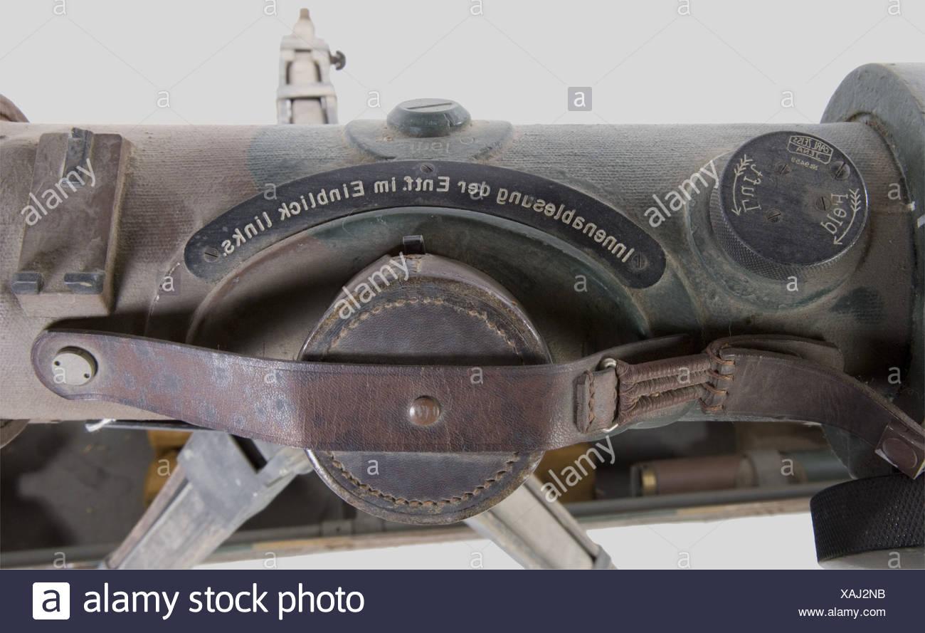 Ein zeiss entfernungsmesser der heer metall mit drei töne