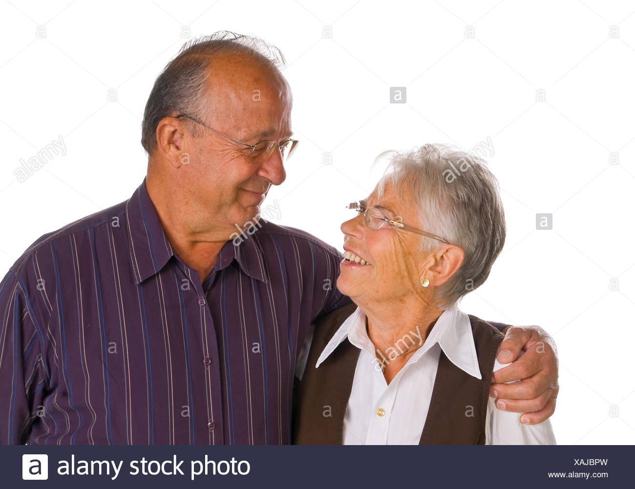 Älteres paar Stockbild