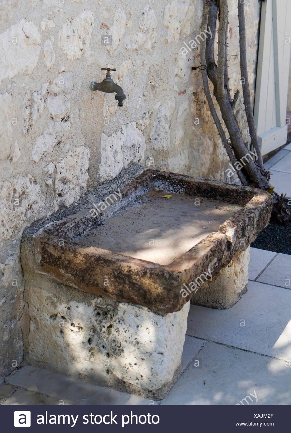 Aussen Waschbecken Fur Garten