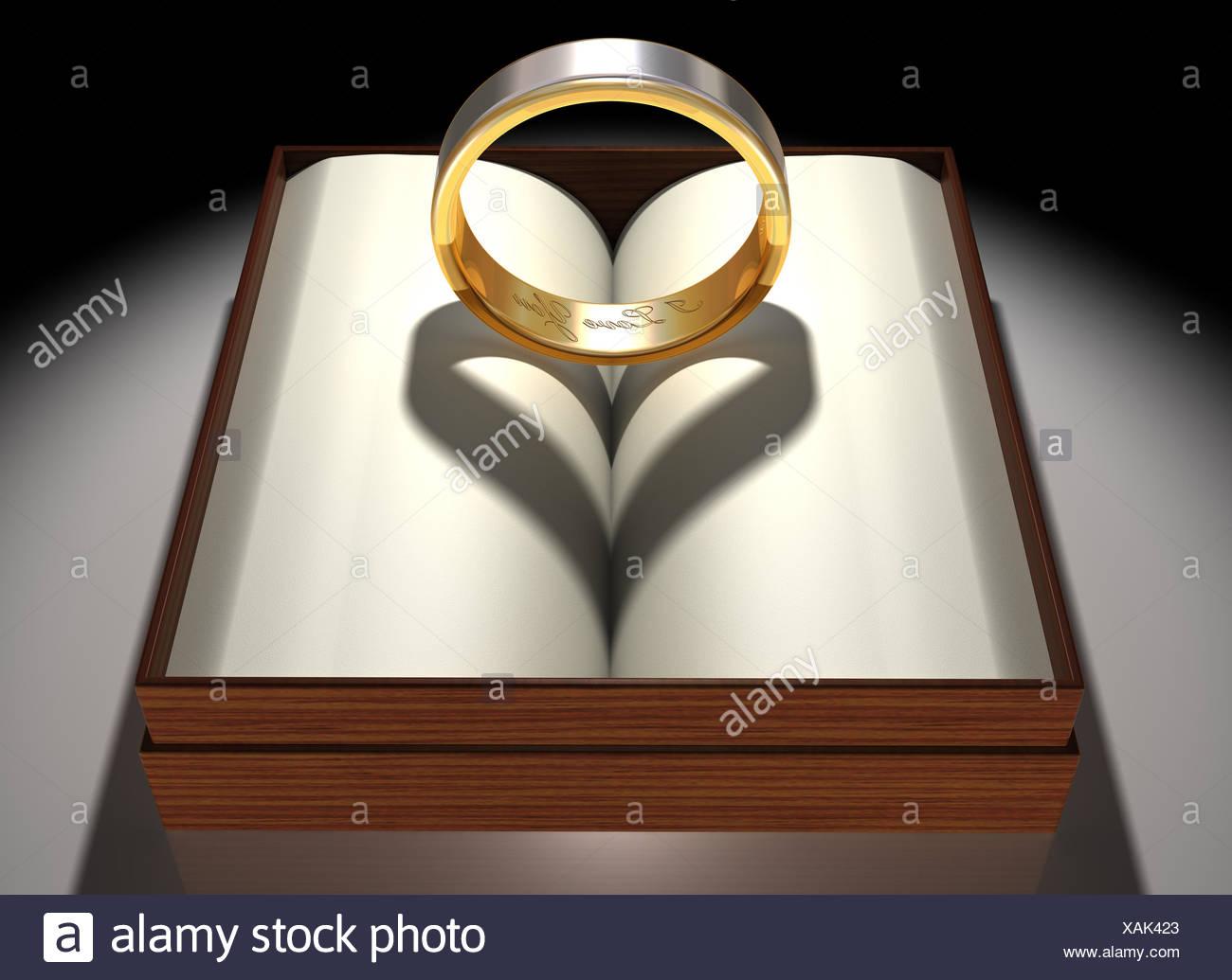 Ring Geschenk In Herzform Romantik Liebe Verliebt Verliebte Sich In