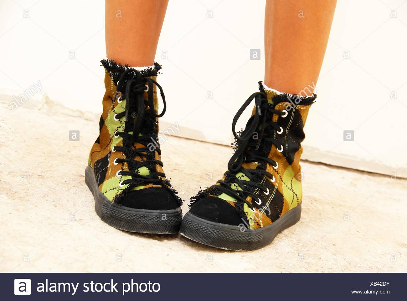 finest selection 7ac1b b67b9 Ausgefallene Schuhe Stockfoto, Bild: 282216859 - Alamy