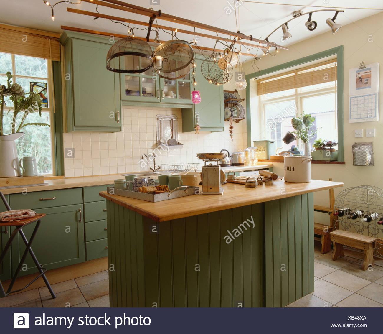 Kitchen Kitchens Interior Stockfotos & Kitchen Kitchens Interior ...