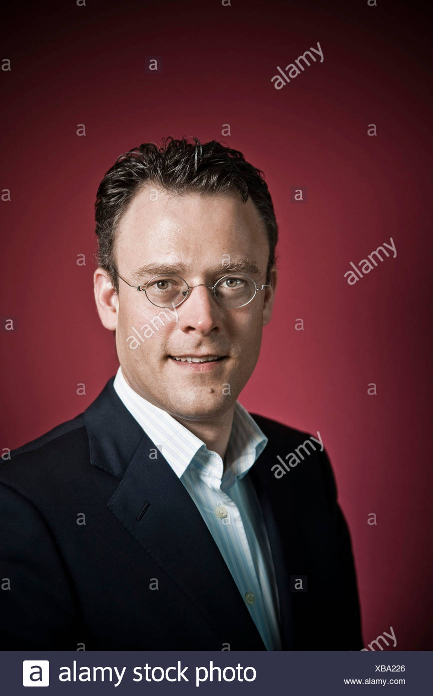 Karl Matthäus Schmidt, CEO Quirin Bank AG, Berlin, Deutschland, Europa Stockbild