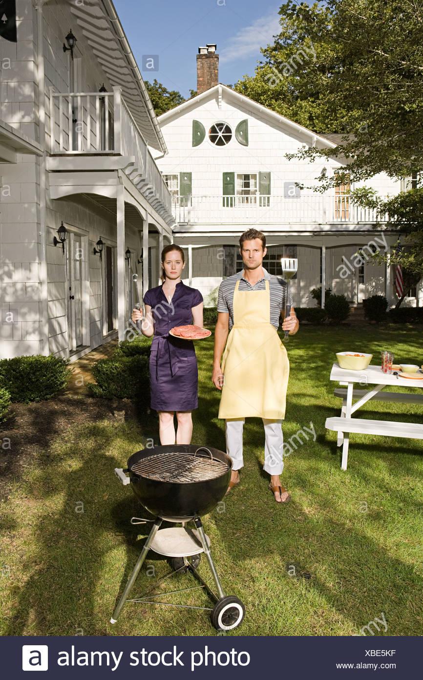 Built Barbecue Stockfotos & Built Barbecue Bilder - Alamy