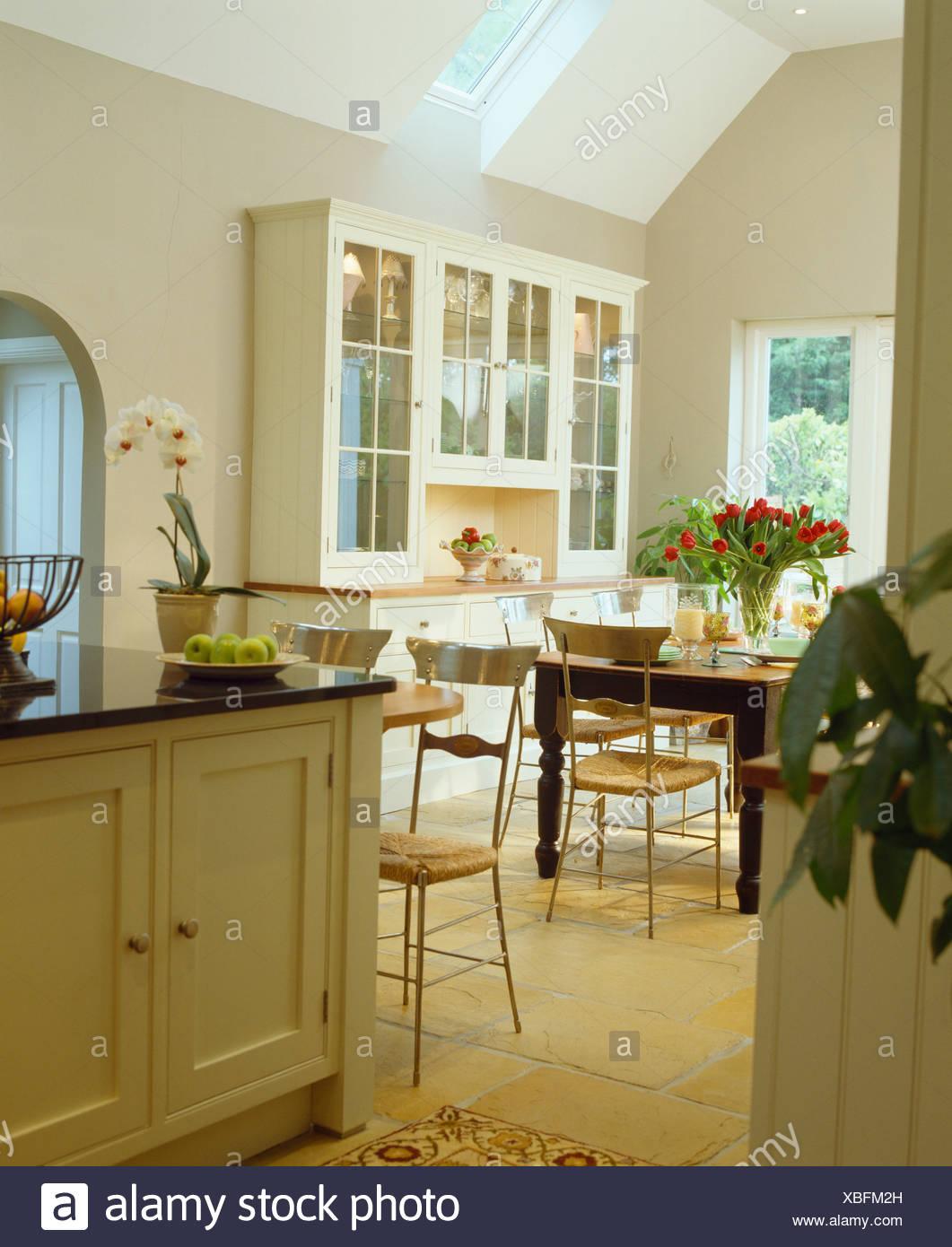 Unit Kitchen Kitchens Domestic Stockfotos & Unit Kitchen Kitchens ...