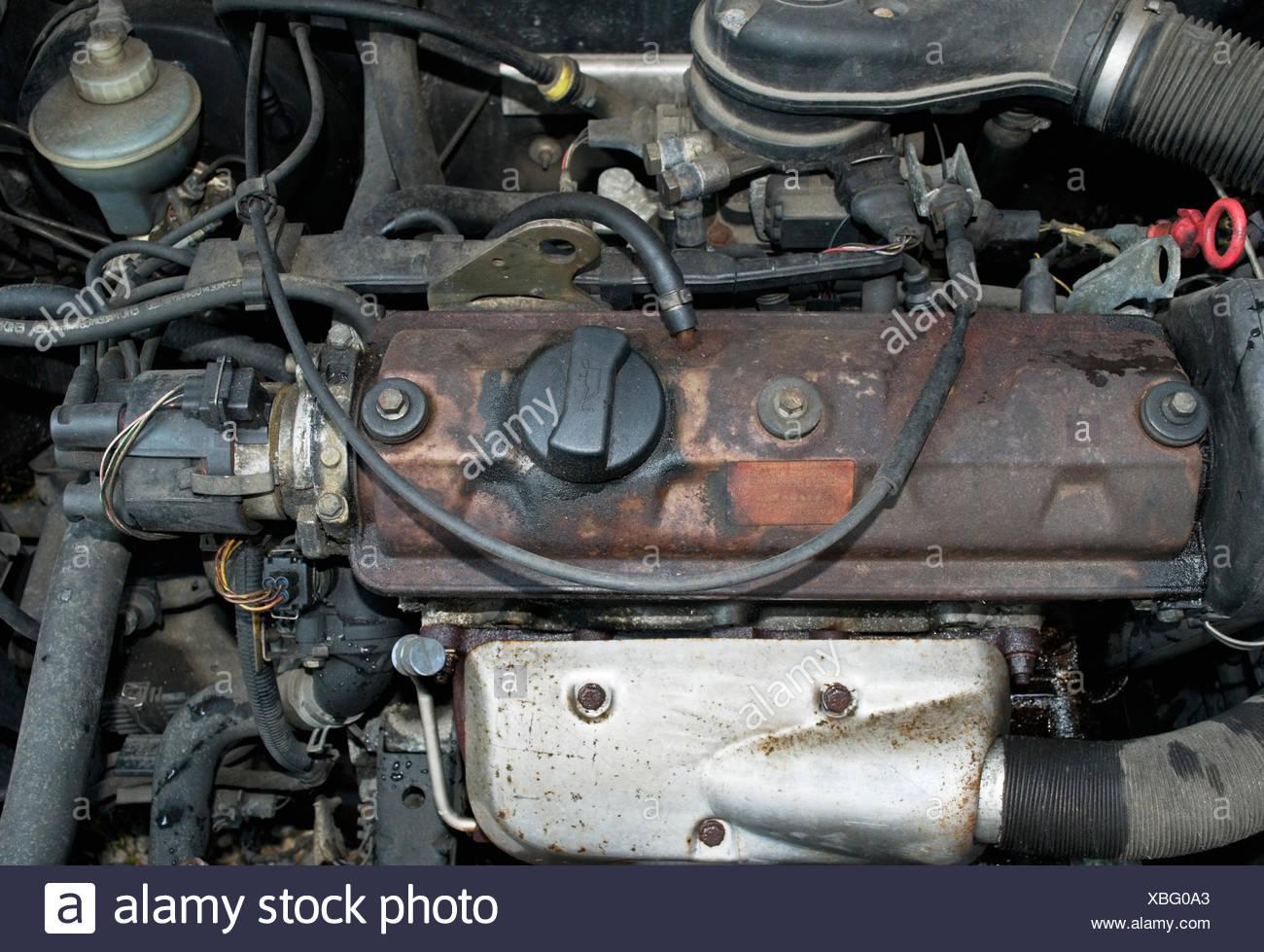 Nett Komponenten Des Automotors Bilder - Schaltplan Serie Circuit ...