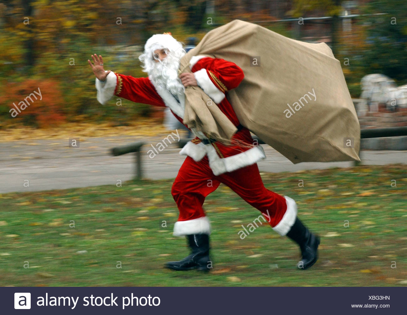 Stück Santa Claus Stockbild
