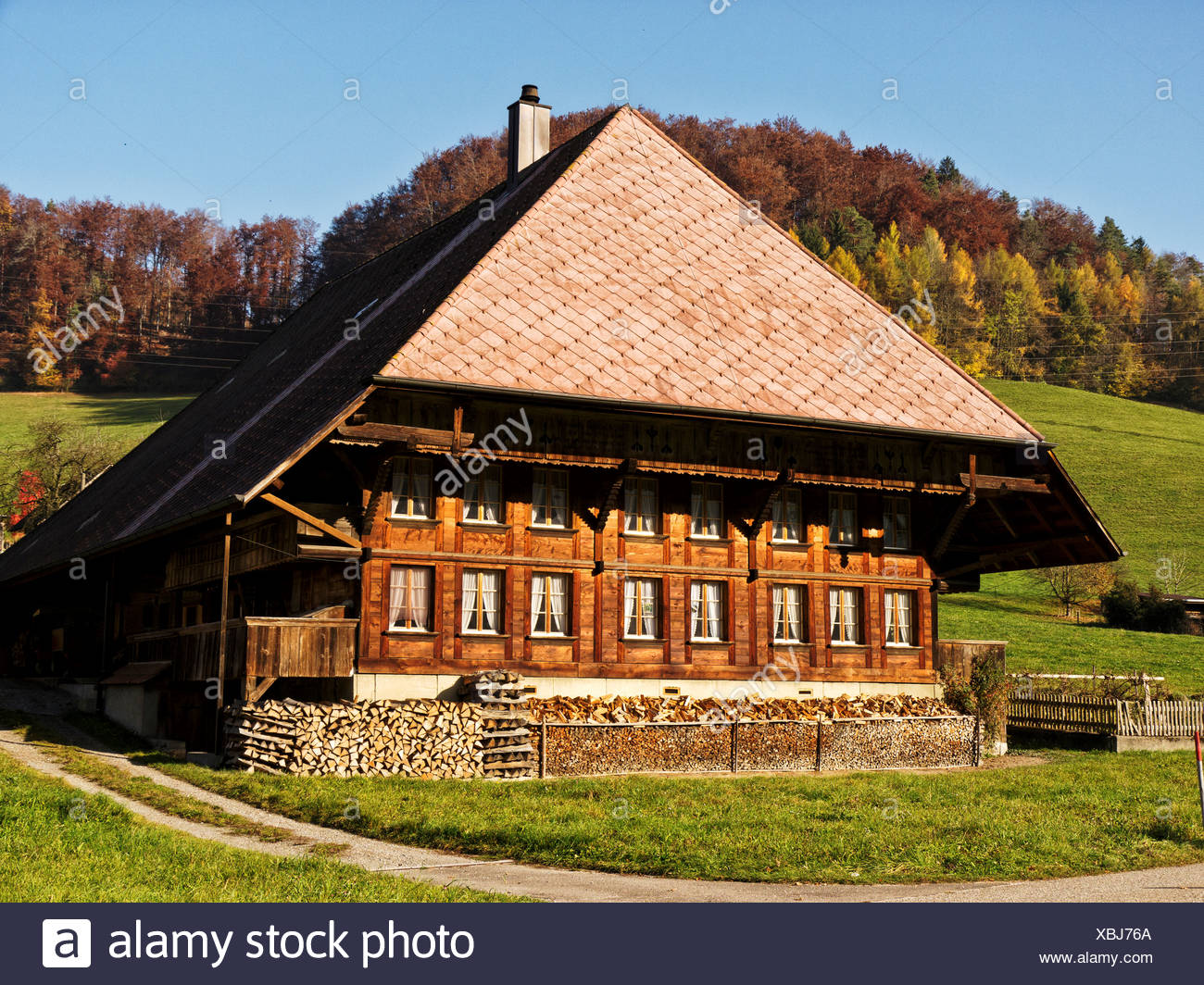 Bauernhof Bauernhaus Emmental Bauernhaus Holzhaus Holzhaus