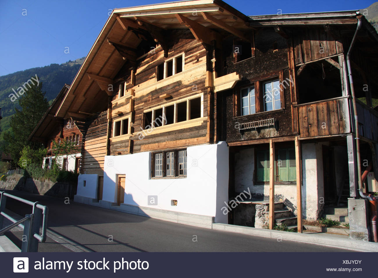schweiz kanton bern obere schilf bauernhaus holz. Black Bedroom Furniture Sets. Home Design Ideas