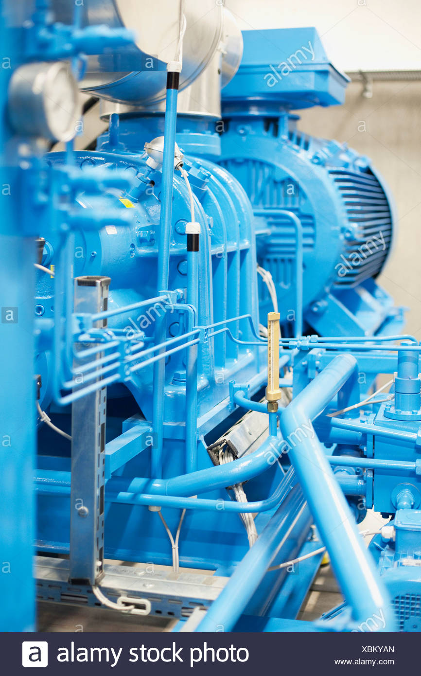 Diesel-generator Stockbild